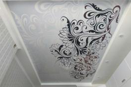 потолки с рисунком